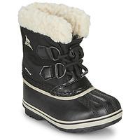 Obuća Djeca Čizme za snijeg Sorel CHILDRENS YOOT PAC NYLON Crna