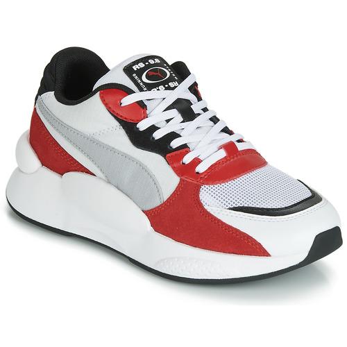 Obuća Djeca Niske tenisice Puma RS-98 SPACE JUNIOR Bijela / Red