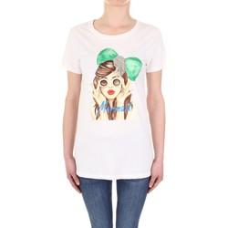 Odjeća Žene  Majice kratkih rukava Vicolo RU0081 Panna