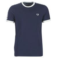 Odjeća Muškarci  Majice kratkih rukava Fred Perry TAPED RINGER T-SHIRT Blue