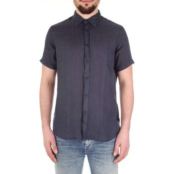 Odjeća Muškarci  Košulje kratkih rukava Fred Mello FM19S27CU Blu