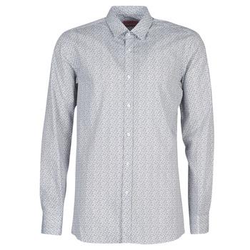 Odjeća Muškarci  Košulje dugih rukava HUGO ELISHA02 Siva