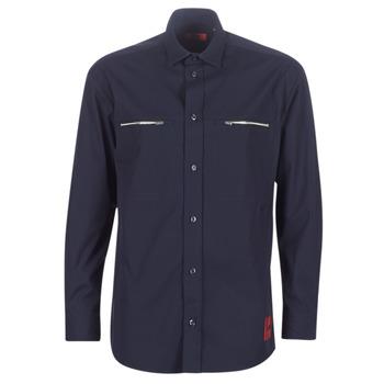Odjeća Muškarci  Košulje dugih rukava HUGO ETRUS Blue