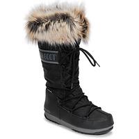 Obuća Žene  Čizme za snijeg Moon Boot MOON BOOT MONACO WP 2 Crna