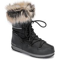 Obuća Žene  Čizme za snijeg Moon Boot MOON BOOT MONACO LOW WP 2 Crna