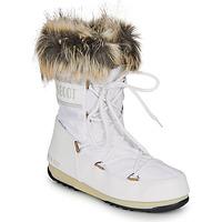 Obuća Žene  Čizme za snijeg Moon Boot MOON BOOT MONACO LOW WP 2 Bijela