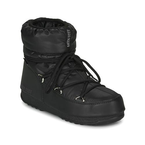 Obuća Žene  Čizme za snijeg Moon Boot MOON BOOT LOW NYLON WP 2 Crna