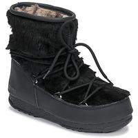 Obuća Žene  Čizme za snijeg Moon Boot MOON BOOT MONACO LOW FUR WP Crna