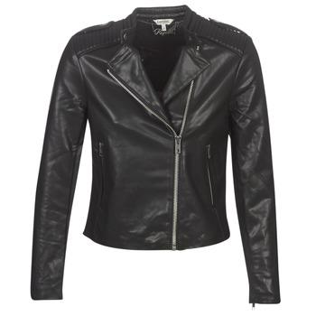 Odjeća Žene  Kožne i sintetičke jakne Kaporal XUT Crna