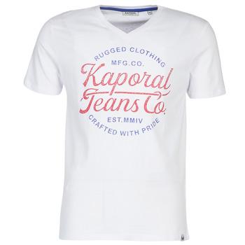 Odjeća Muškarci  Majice kratkih rukava Kaporal OBUCE Bijela