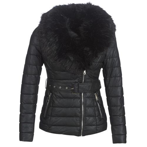 Odjeća Žene  Pernate jakne Moony Mood LOUVE Crna