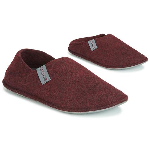 Obuća Papuče Crocs CLASSIC CONVERTIBLE SLIPPER Bordo / Siva