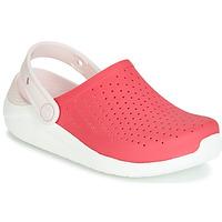 Obuća Djevojčica Klompe Crocs LITERIDE CLOG K Red / Bijela