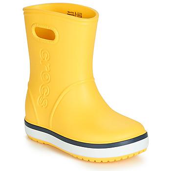 Obuća Djeca Gumene čizme Crocs CROCBAND RAIN BOOT K Žuta