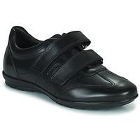 Obuća Muškarci  Derby cipele Geox UOMO SYMBOL Crna