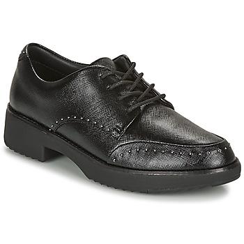 Obuća Žene  Derby cipele FitFlop KEELY MICROSTUD BROGUES Crna