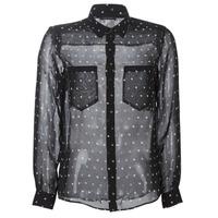 Odjeća Žene  Košulje i bluze Ikks BP12165-02 Crna