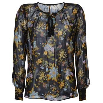 Odjeća Žene  Topovi i bluze Ikks BP13125-02 Crna / Multicolour
