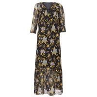Odjeća Žene  Duge haljine Ikks BP30195-02 Crna / Multicolour