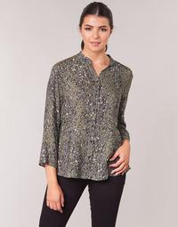 Odjeća Žene  Topovi i bluze One Step CARLY CHEMISE Kaki / Multicolour