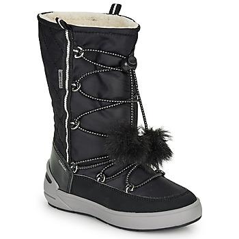 Obuća Djevojčica Čizme za snijeg Geox J SLEIGH GIRL B ABX Crna