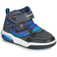 Obuća Dječak  Visoke tenisice Geox J INEK BOY Crna / Blue