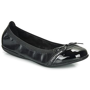 Obuća Žene  Balerinke i Mary Jane cipele Chattawak CAPRICE Crna