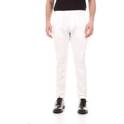 Odjeća Muškarci  Hlače s pet džepova Bicolore F2576-ZINCO Bianco