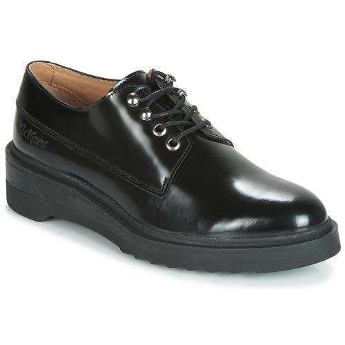 Obuća Žene  Derby cipele Kickers ALDARIC Crna