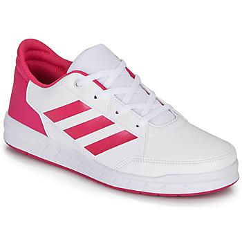 Obuća Djevojčica Niske tenisice adidas Performance ALTASPORT K Bijela / Ružičasta