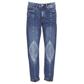 Odjeća Žene  Boyfriend traperice G-Star Raw 3301-L MID BOYFRIEND DIAMOND Blue / Světlá / Vintage / Aged