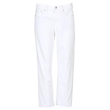 Odjeća Žene  Boyfriend traperice G-Star Raw 3301 MID BOYFRIEND 7/8 Bijela