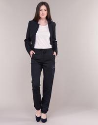 Odjeća Žene  Cargo hlače G-Star Raw FELDSPAR HIGH STRAIGHT CARGO Blue