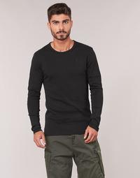 Odjeća Muškarci  Majice dugih rukava G-Star Raw BASE TEE Crna