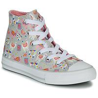 Obuća Djevojčica Visoke tenisice Converse CHUCK TAYLOR ALL STAR LLAMA HI Siva / Multicolour