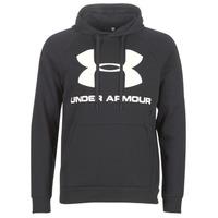 Odjeća Muškarci  Sportske majice Under Armour RIVAL FLEECE SPORTSTYLE LOGO HOODIE Crna