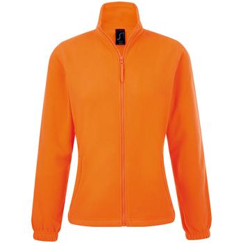 Odjeća Žene  Flisevi Sols NORTH POLAR WOMEN Naranja