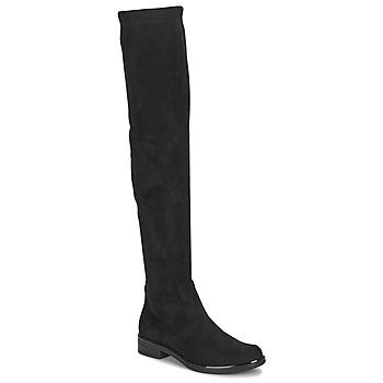 Obuća Žene  Čizme iznad koljena Caprice LITIA Crna