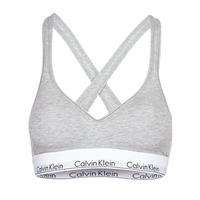 Donje rublje Žene  Topovi Calvin Klein Jeans MODERN COTTON BRALETTE LIFT Siva