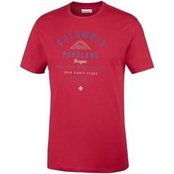 Odjeća Muškarci  Majice kratkih rukava Columbia Leathan Trail Red