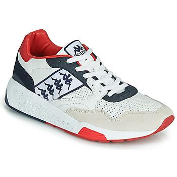 Obuća Muškarci  Niske tenisice Kappa LUXOR 2 Bijela / Red
