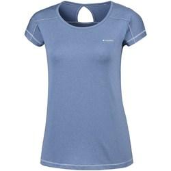 Odjeća Žene  Majice kratkih rukava Columbia Peak TO Point Blue