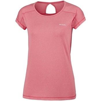 Odjeća Žene  Majice kratkih rukava Columbia Peak TO Point Ružičasta