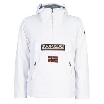 Odjeća Muškarci  Parke Napapijri RAINFOREST POCKET Bijela