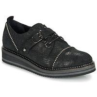 Obuća Žene  Derby cipele Regard ROCTALOX V2 TOUT SERPENTE SHABE Crna