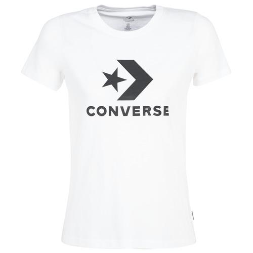 Odjeća Žene  Majice kratkih rukava Converse STAR CHEVRON Bijela
