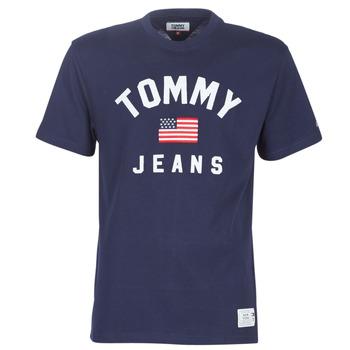 Odjeća Muškarci  Majice kratkih rukava Tommy Jeans TJM USA FLAG TEE Blue