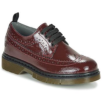 Obuća Djevojčica Derby cipele Citrouille et Compagnie LOUPIOTTE Bordo