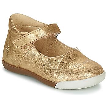 Obuća Djevojčica Balerinke i Mary Jane cipele Citrouille et Compagnie LAKALA Gold