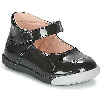 Obuća Djevojčica Balerinke i Mary Jane cipele Citrouille et Compagnie LAKALA Crna